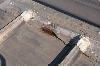 Patching a roof leak