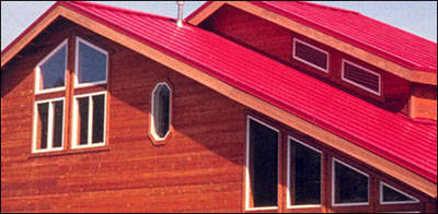 how to finish edges on steel roofing